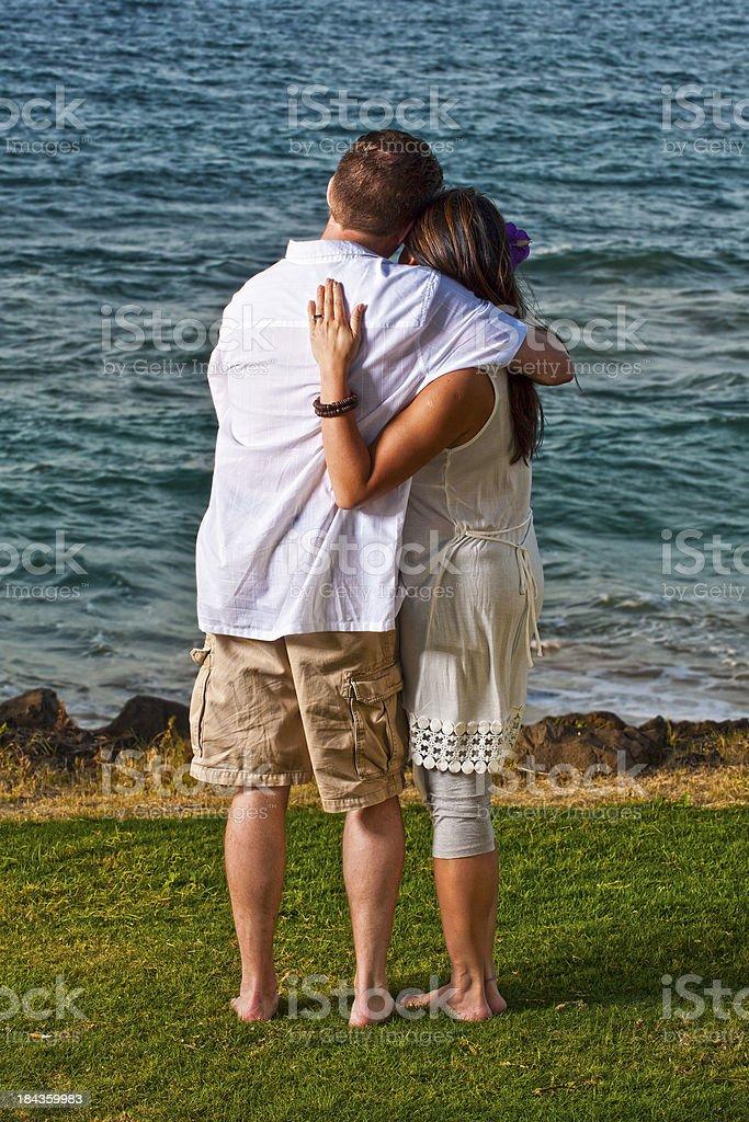 Honeymoon Couple stock photo