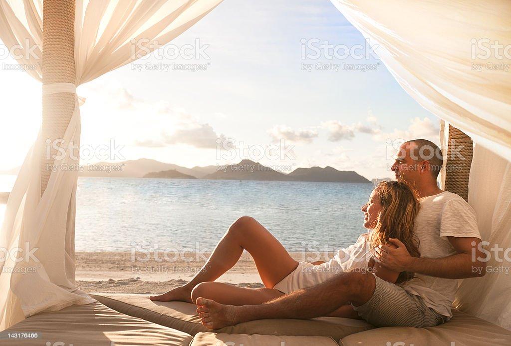 Honeymoon royalty-free stock photo