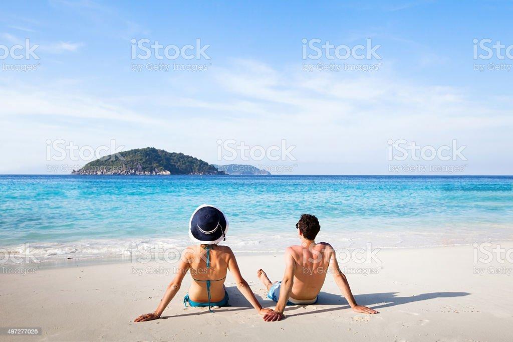 honeymoon stock photo