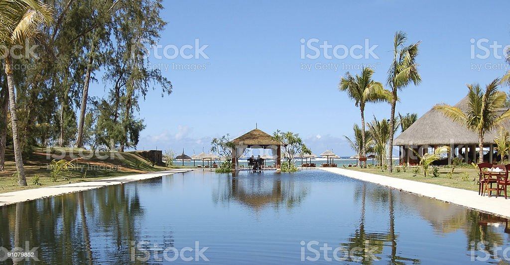 Honeymoon reservation royalty-free stock photo