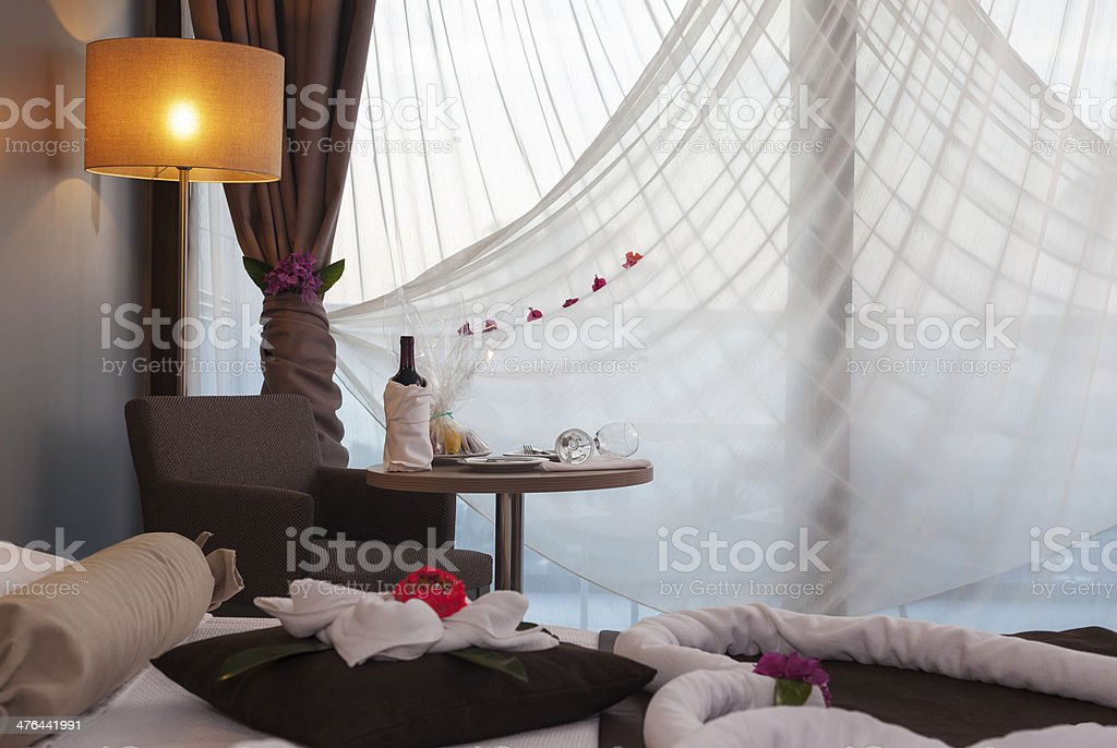 Honeymoon Room royalty-free stock photo
