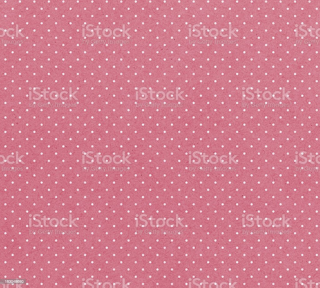 honeysuckle paper with white dots stock photo