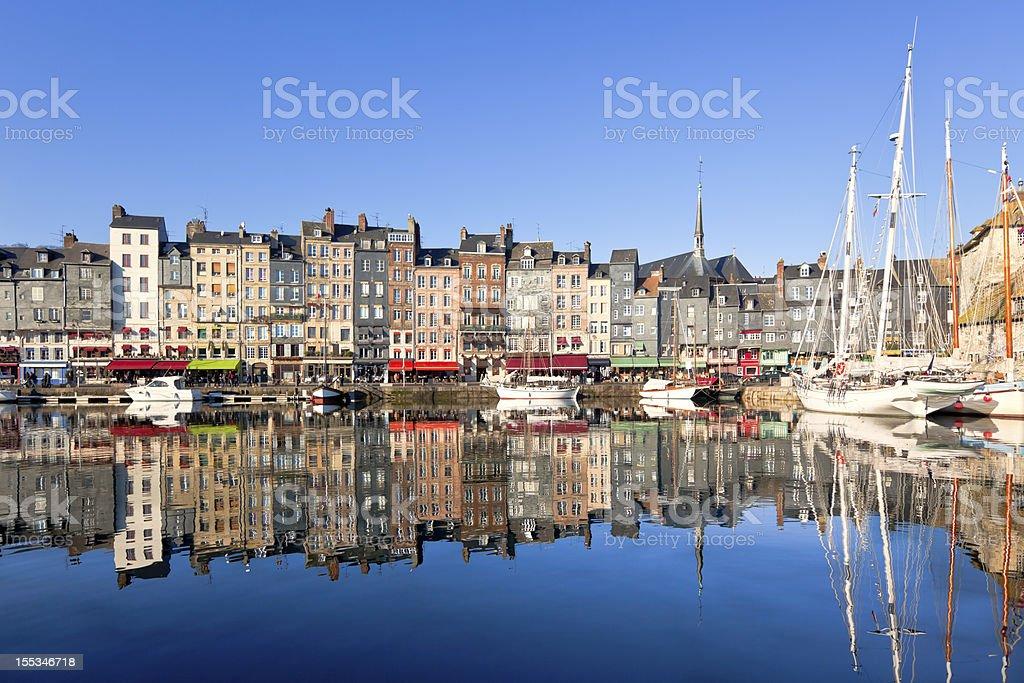 Honfleur, France stock photo