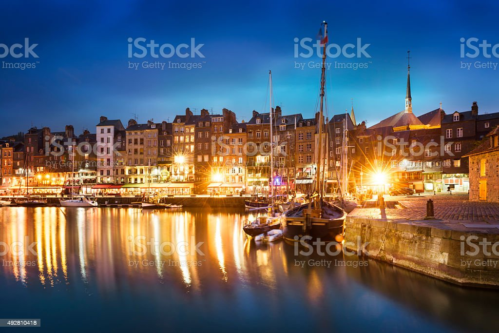 Honfleur, Normany, France stock photo