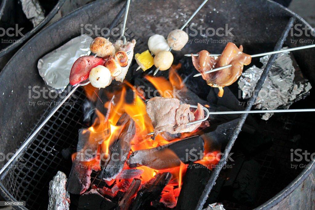Hong Kong BBQ style stock photo