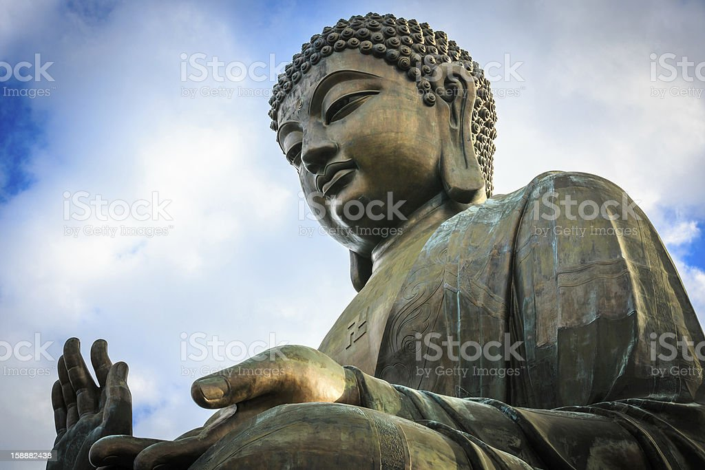 Hong Kong Buddha (Lantau Island) royalty-free stock photo