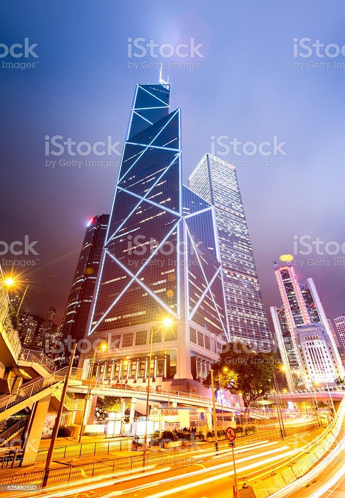 Hong Kong CBD stock photo