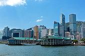 Hong Kong Central ferry pier