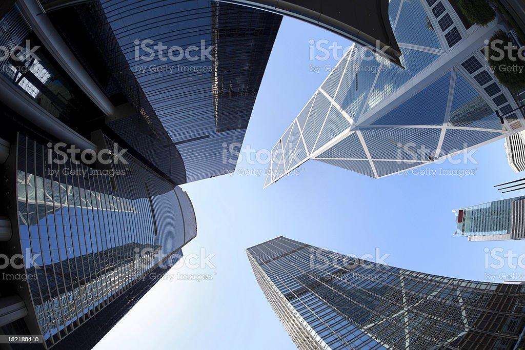 Hong Kong, Central stock photo