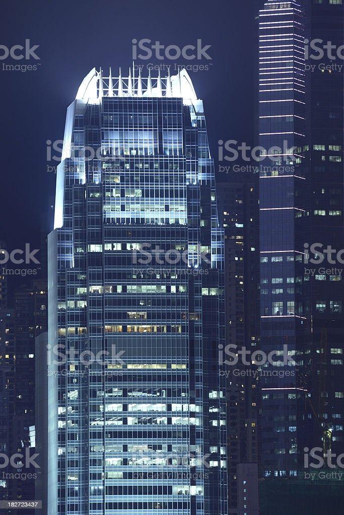 Hong Kong Central royalty-free stock photo