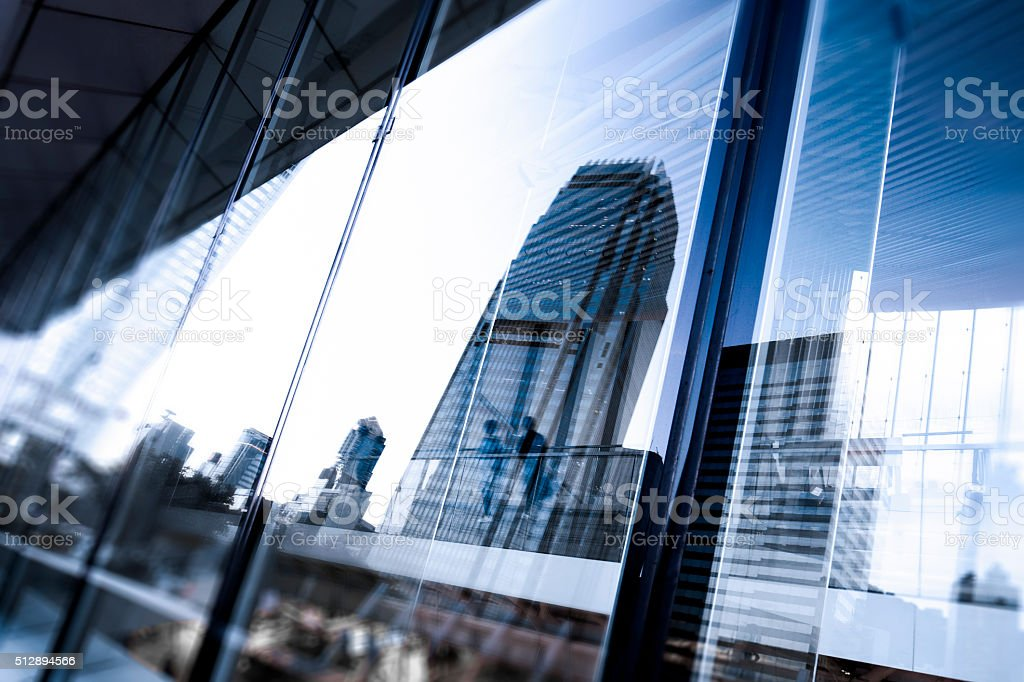 Hong Kong Corporate Offices stock photo