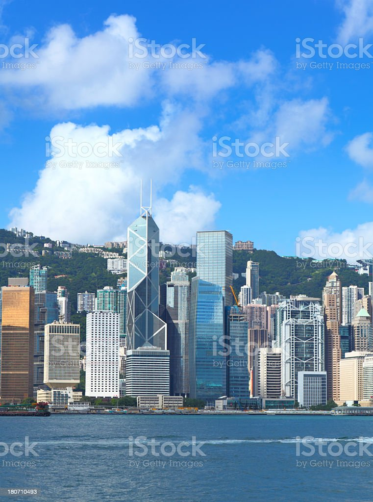 Hong Kong daytime royalty-free stock photo
