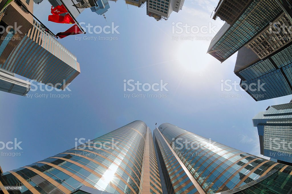Hong Kong Exchange square royalty-free stock photo