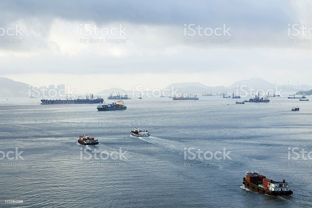 Hong Kong Harbour royalty-free stock photo