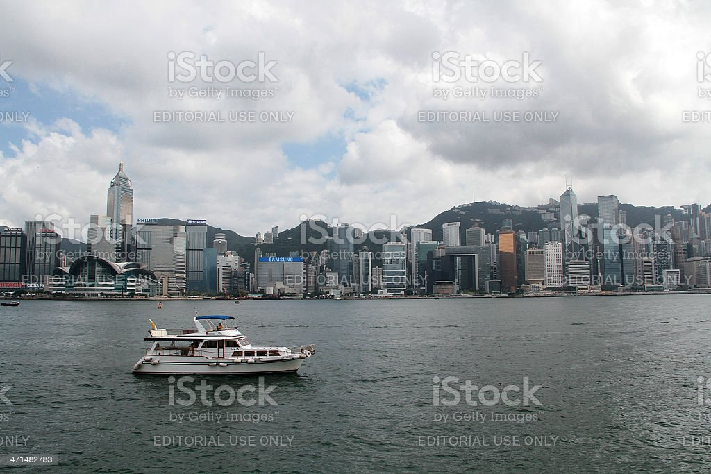 Hong Kong durante il giorno foto stock royalty-free