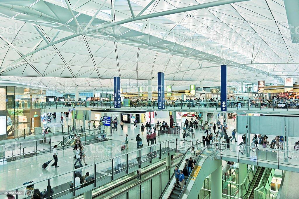 Hong Kong International Airport, China Asia stock photo