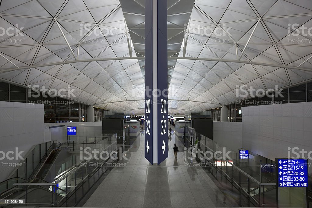 Hong Kong International Airport royalty-free stock photo