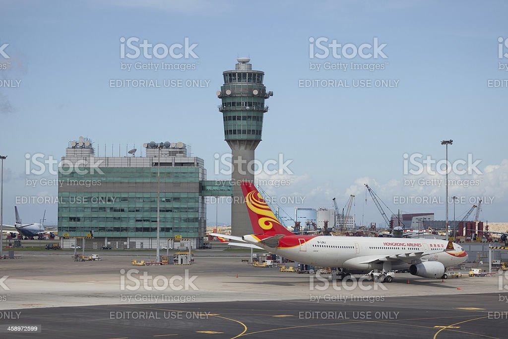 Hong Kong International Airport royalty-free stock photo