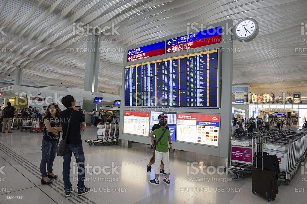 Hong Kong International Airport Terminal 2 royalty-free stock photo