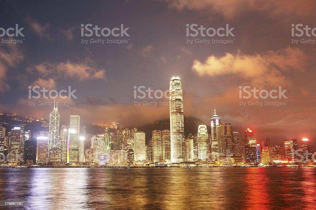 Hong Kong island royalty-free stock photo