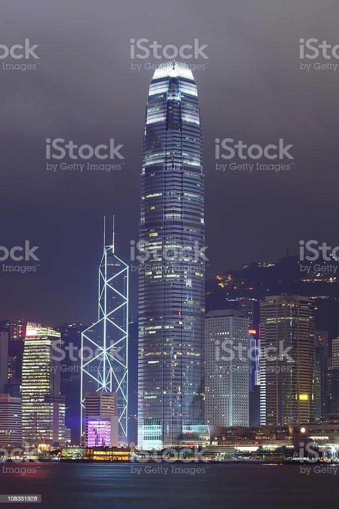 Hong Kong Landmark royalty-free stock photo