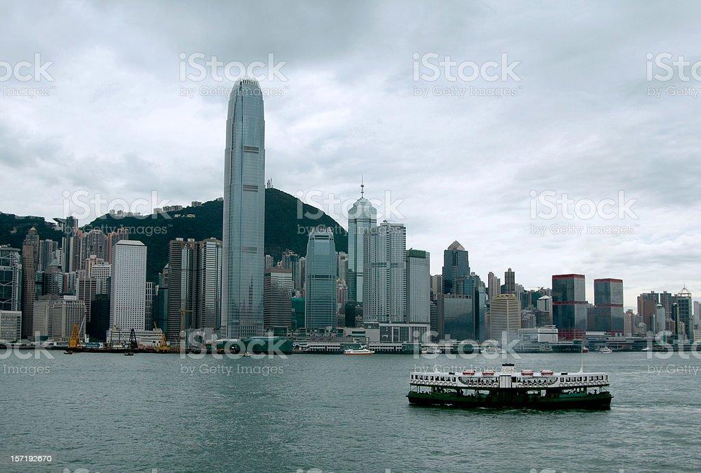 Hong Kong Landscape royalty-free stock photo
