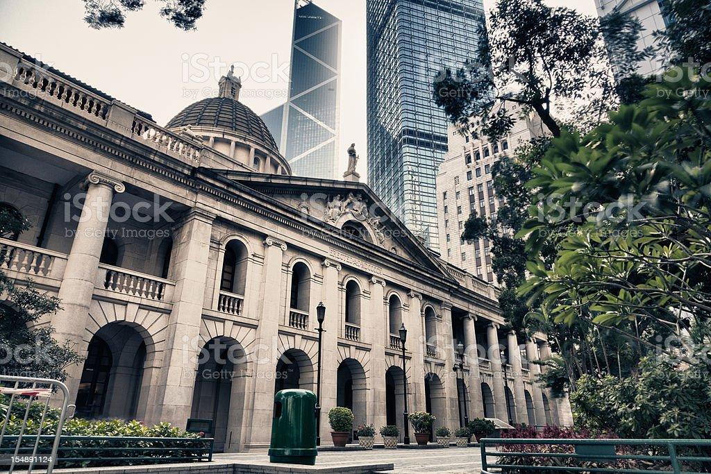 Hong Kong Legislative Council stock photo