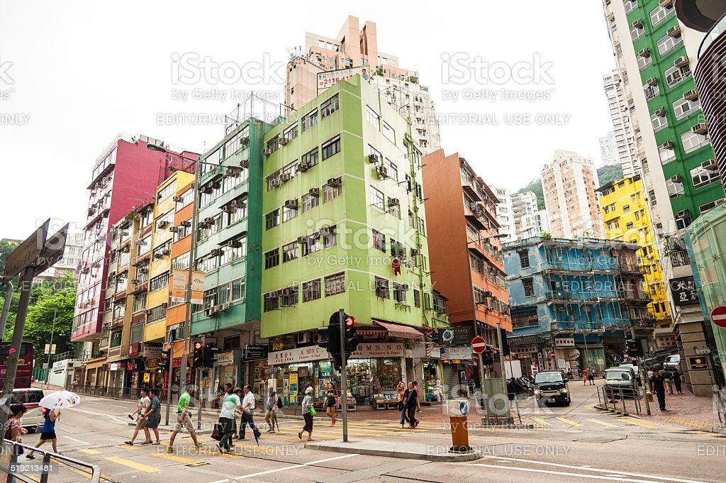 Hong Kong lifestyle stock photo