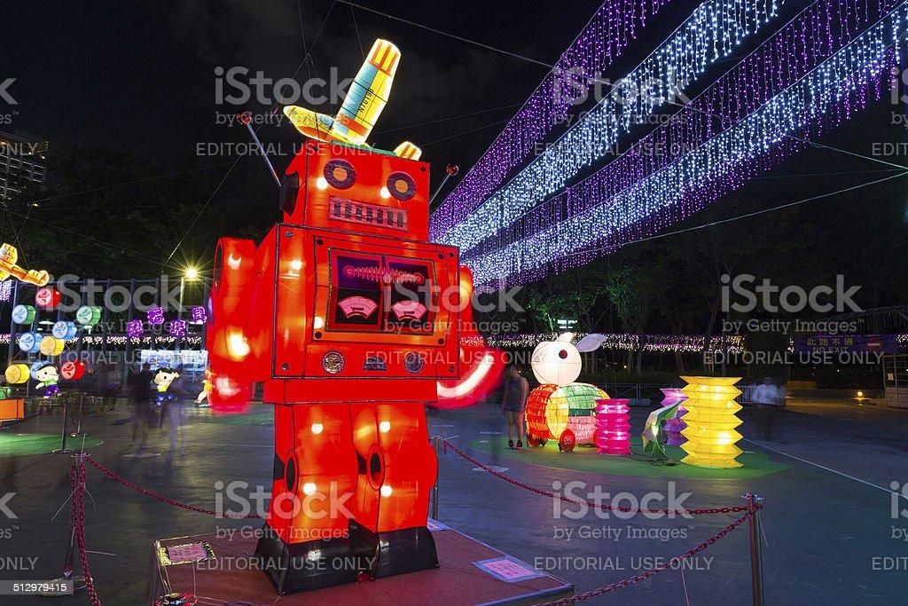 Hong Kong Mid-Autumn Festival stock photo