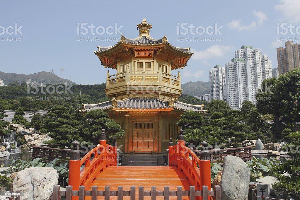 Hong Kong Nan Lian Garden stock photo