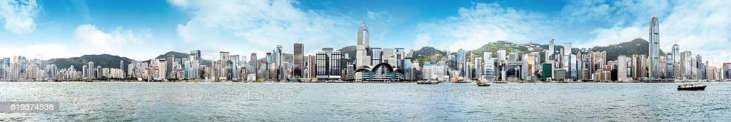 Hong Kong Panorama stock photo