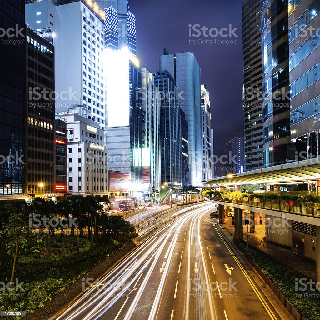 hongkong royalty-free stock photo