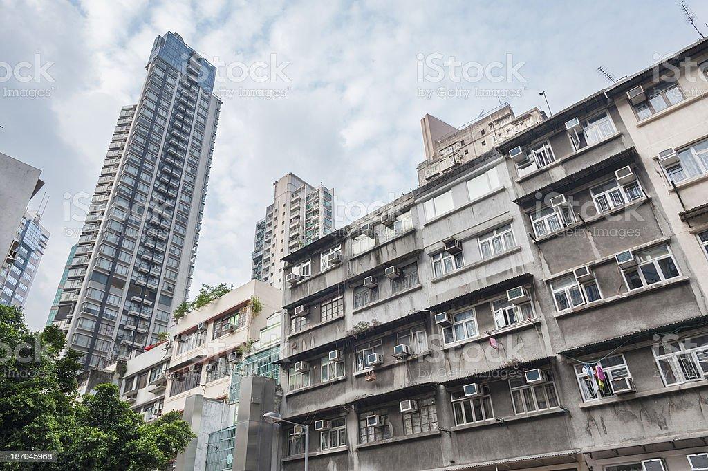 Hong Kong royalty-free stock photo
