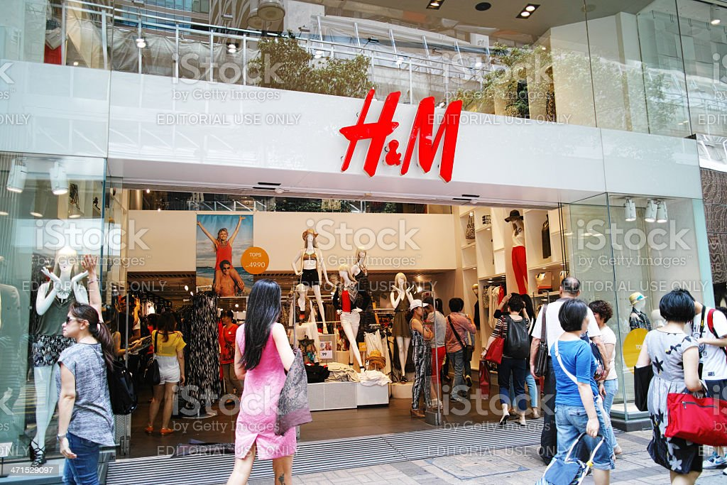 H&M Hong Kong stock photo