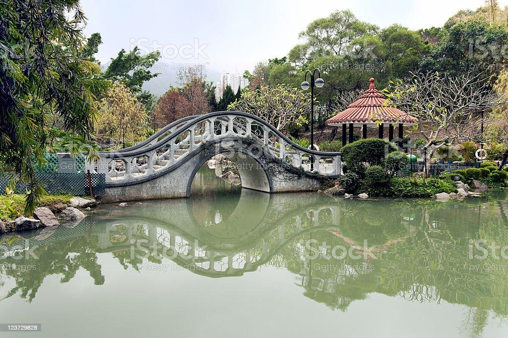 Hong Kong Public Park stock photo