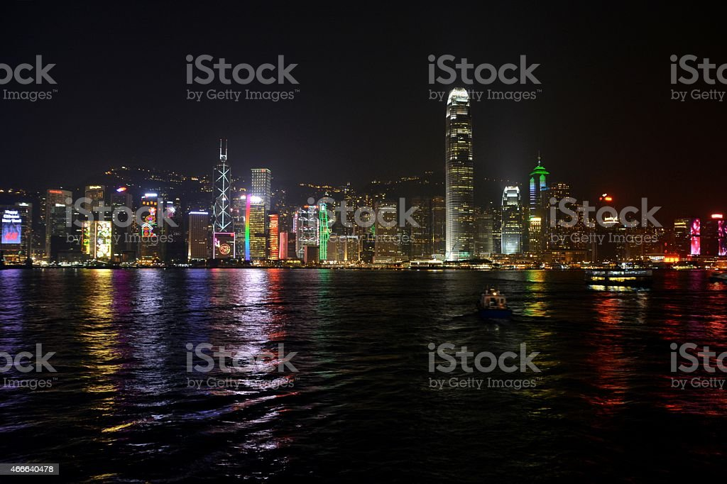 Hong Kong Skyline stock photo