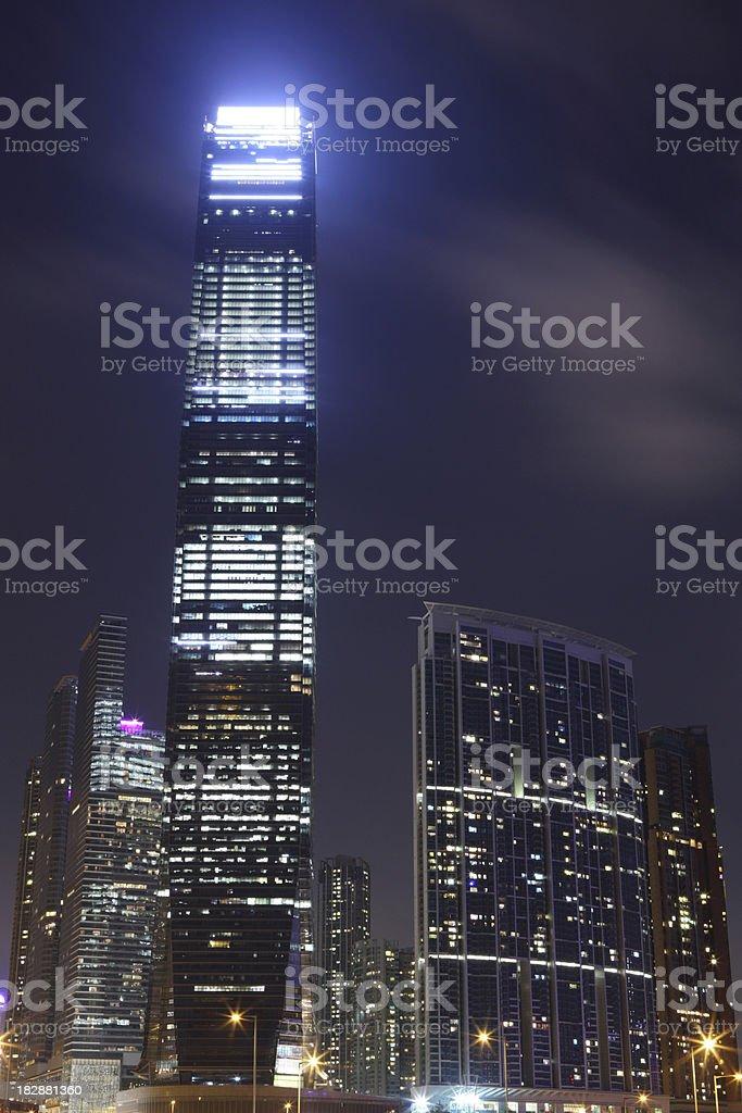 Hong Kong Skyscraper stock photo