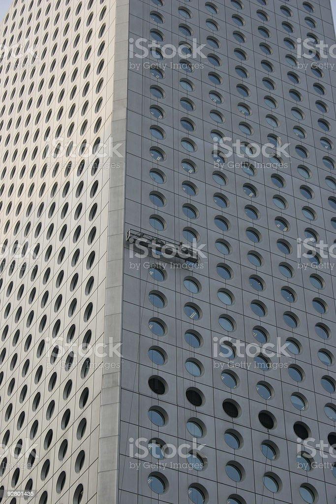Hong Kong Skyscraper royalty-free stock photo