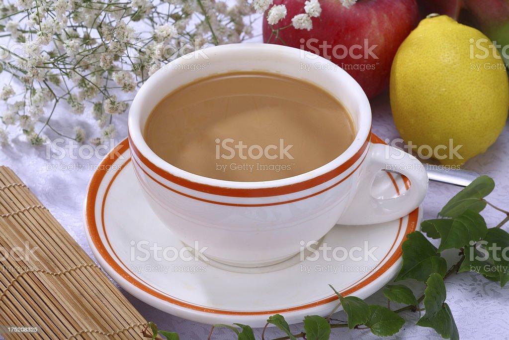Hong Kong style milk tea (港式奶茶) royalty-free stock photo