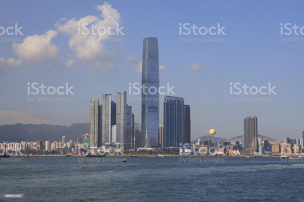Hong Kong tallest Skyscraper royalty-free stock photo