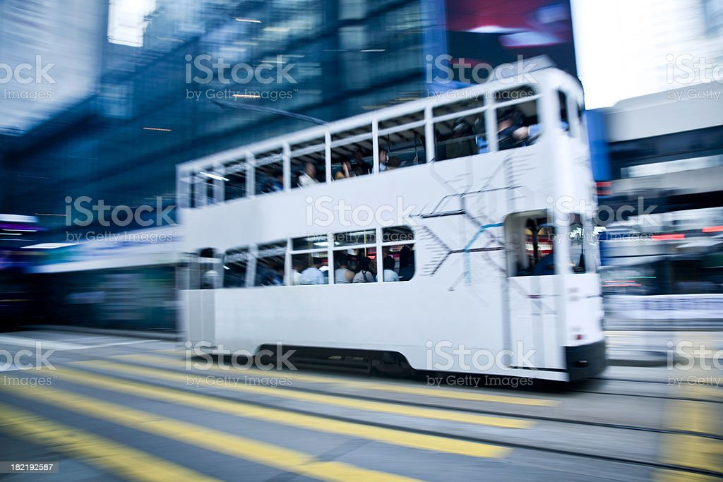 Hong Kong Tram royalty-free stock photo