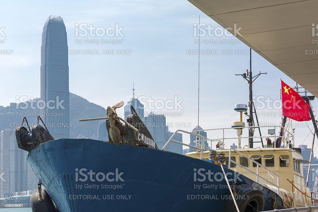 Hong Kong Vessel Kai Fung No.2 stock photo
