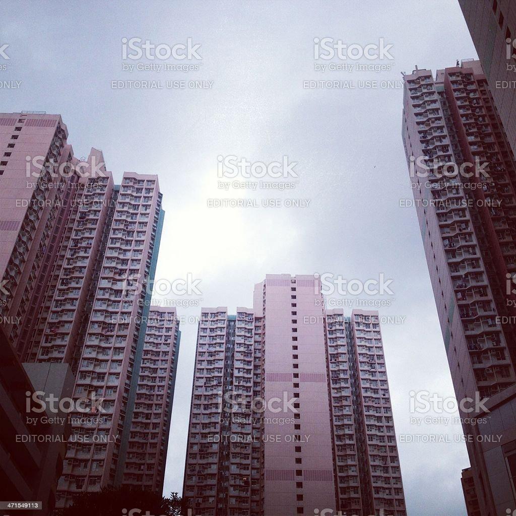 Hong Kong View royalty-free stock photo