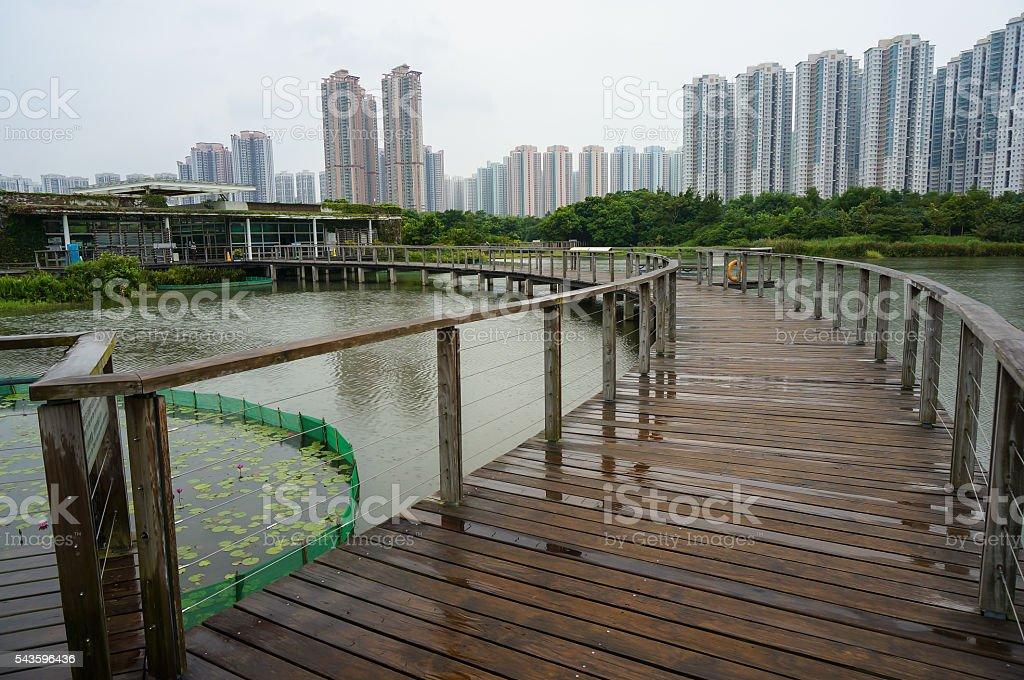 Hong Kong Wetland Park stock photo