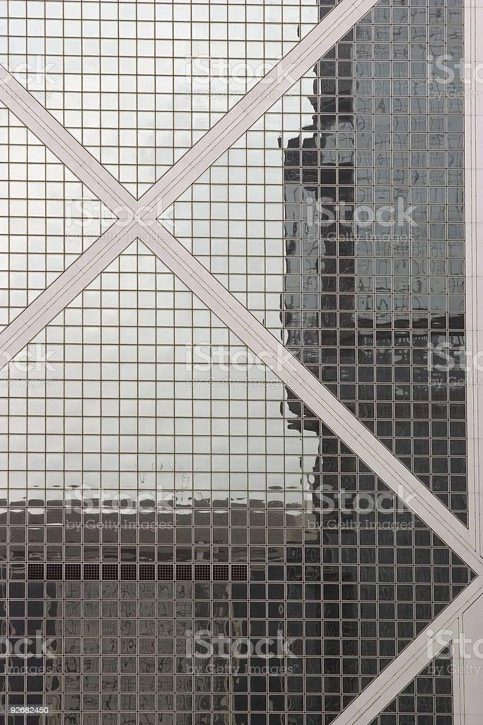Hong Kong Window royalty-free stock photo