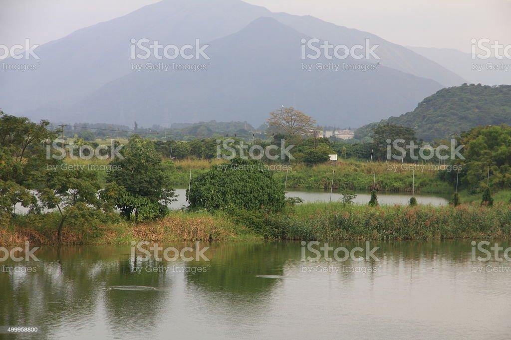 Hong Kong's Countryside stock photo