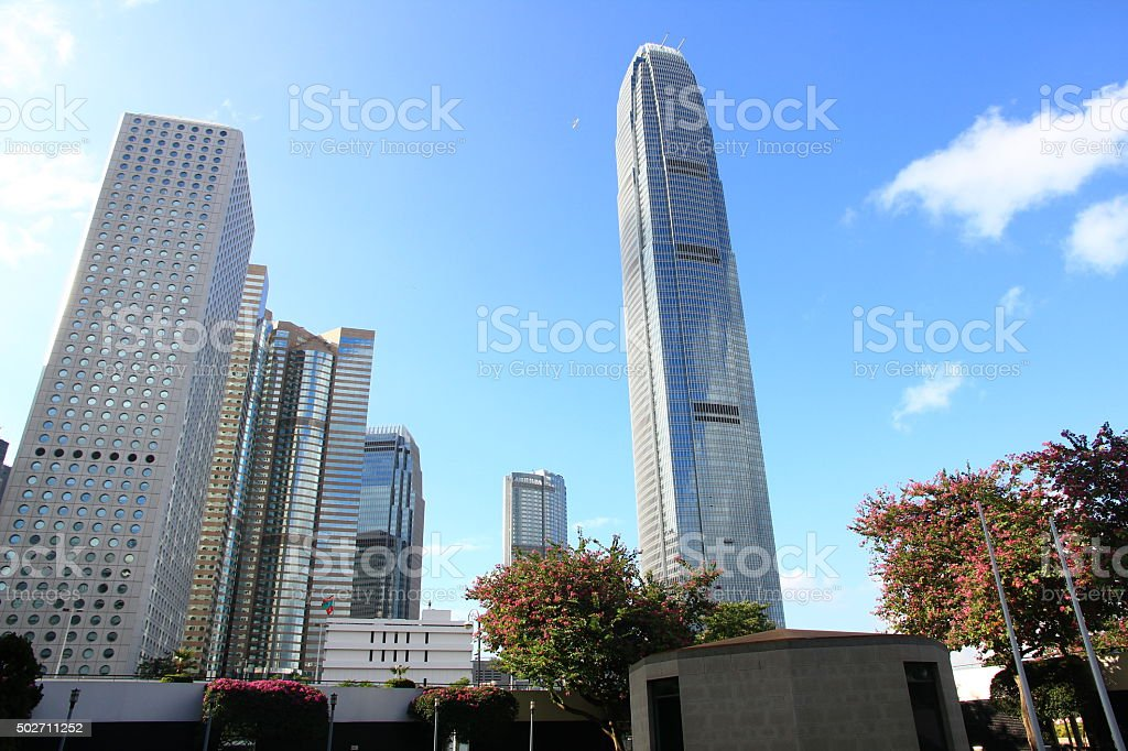 Hong Kong's Skyline stock photo