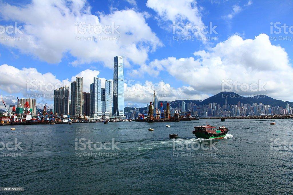 Hong Kong's Skyline stock photo