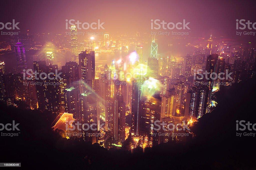 hongkong city royalty-free stock photo