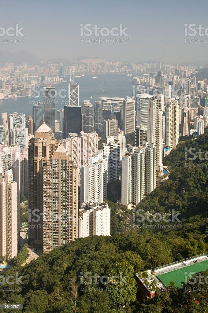 Hongkong Cityscape royalty-free stock photo